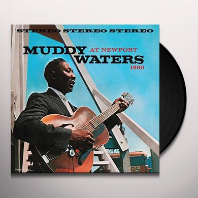 MUDDY WATERS AT NEWPORT 1960 Vinyl Record - Gatefold Sleeve, Limited Edition, 180 Gram Pressing