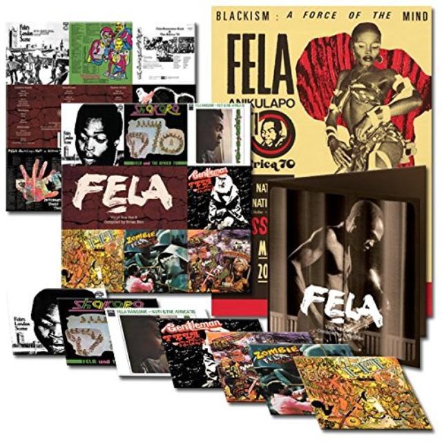 Fela Kuti BOX SET #3 CURATED BY BRIAN ENO Vinyl Record