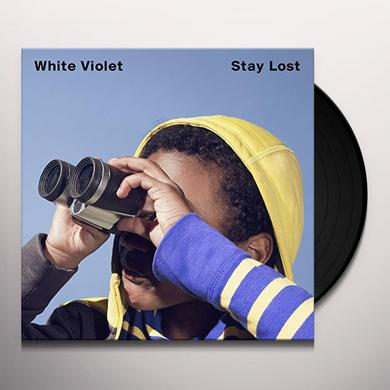 White Violet STAY LOST Vinyl Record