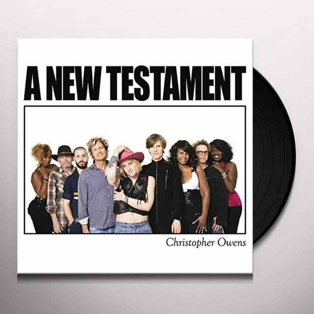 Christopher Owens NEW TESTAMENT Vinyl Record