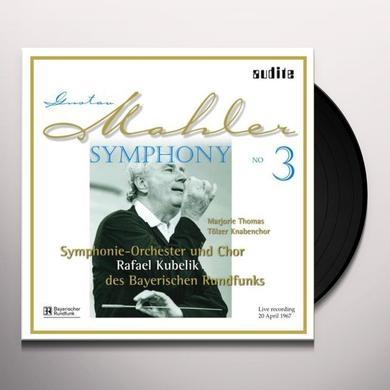 Gustav Mahler SYM 3 Vinyl Record