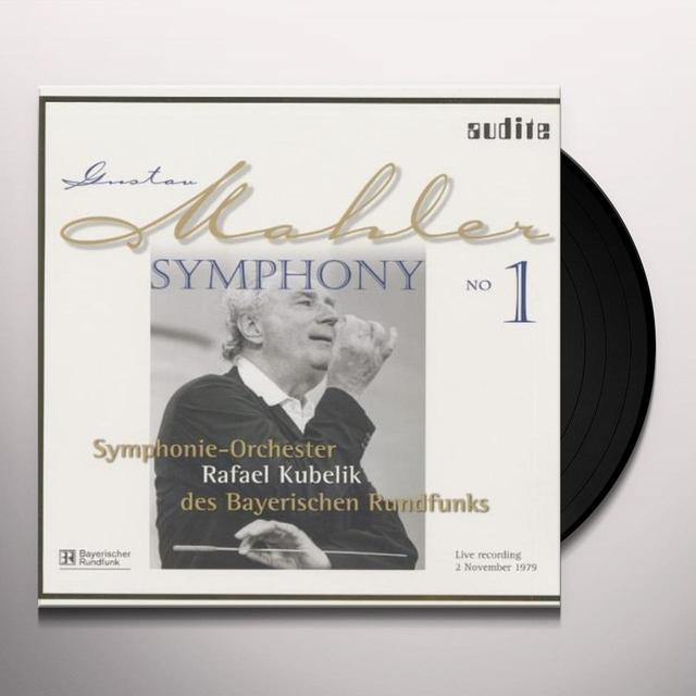 Gustav Mahler SYM 1 Vinyl Record