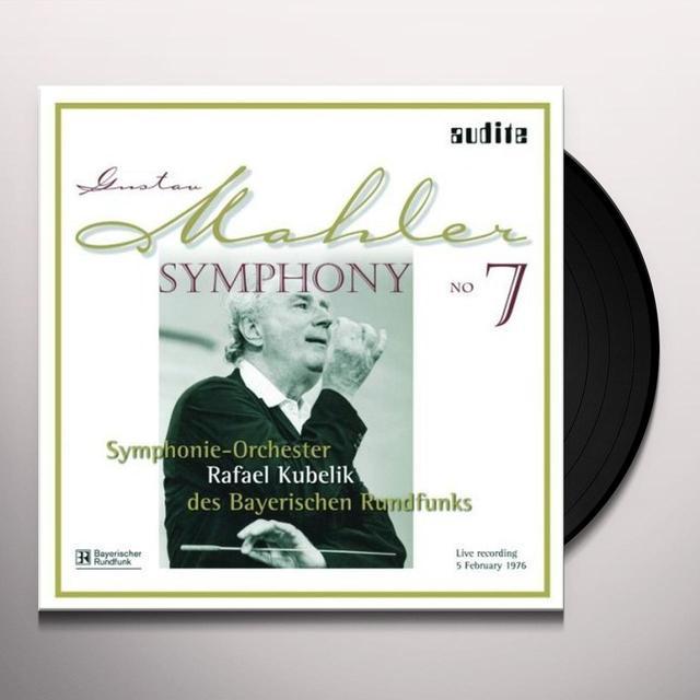 Gustav Mahler SYM 7 Vinyl Record