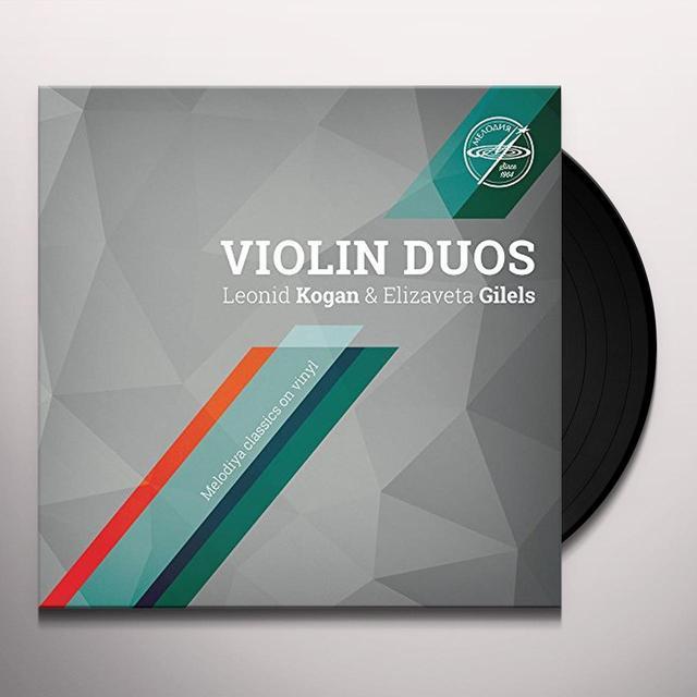 TELEMANN / KOGAN / GILELS VLN DUOS Vinyl Record
