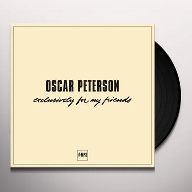 Oscar Peterson EXCLUSIVELY FOR MY FRIENDS Vinyl Record