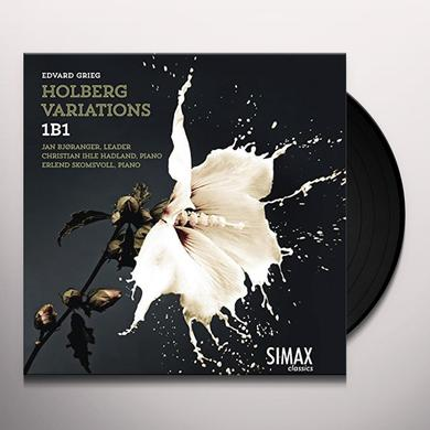 GRIEG / 1B1 / SKOMSVOLL / BJORANGER HOLBERG VARIATIONS Vinyl Record