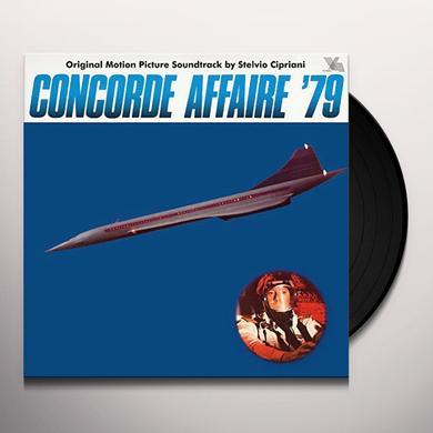 Stelvio Cipriani CONCORDE AFFAIRE 79 / O.S.T. Vinyl Record
