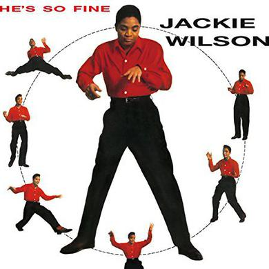 Jackie Wilson HE'S SO FINE Vinyl Record