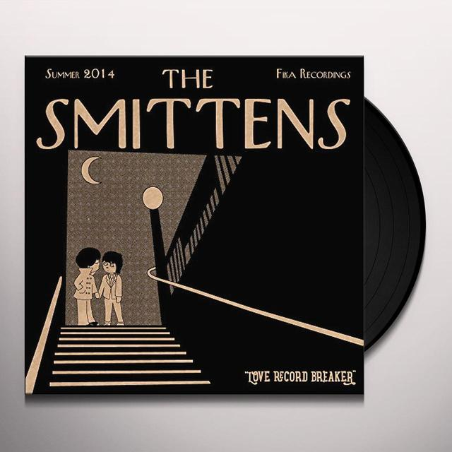 SMITTENS LOVE RECORD BREAKER Vinyl Record - 10 Inch Single