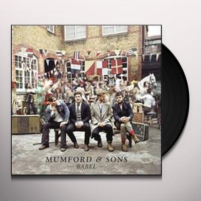 Mumford & Sons BABEL Vinyl Record - UK Import