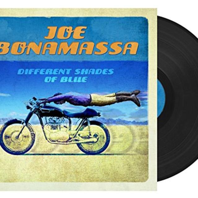 Joe Bonamassa DIFFERENT SHADES OF BLUE Vinyl Record