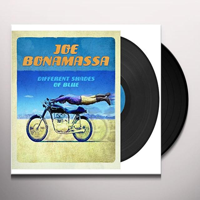 Joe Bonamassa DIFFERENT SHADES OF BLUE Vinyl Record - UK Import