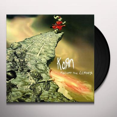 KoRn FOLLOW THE LEADER Vinyl Record - Holland Import