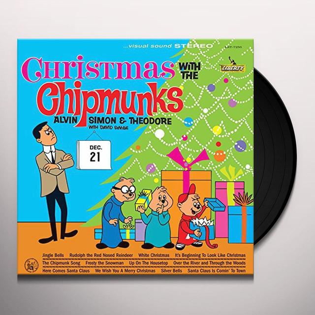 christmas with the chipmunks vinyl record - Alvin And The Chipmunks Christmas Songs