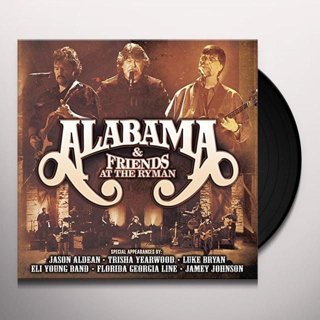 ALABAMA & FRIENDS AT THE RYMAN LIMITED EDITION Vinyl Record
