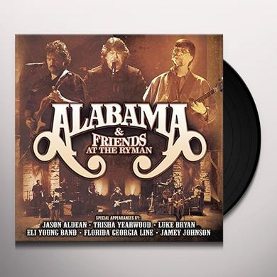 ALABAMA & FRIENDS AT THE RYMAN LIMITED EDITION Vinyl Record - Limited Edition