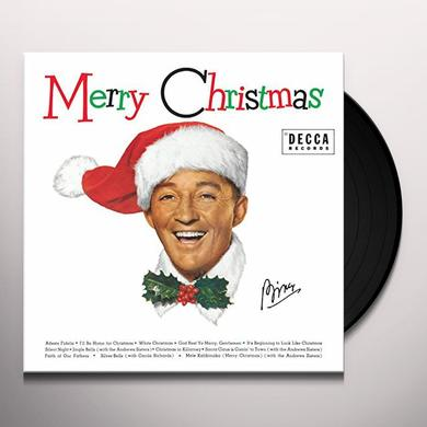 Bing Crosby MERRY CHRISTMAS Vinyl Record