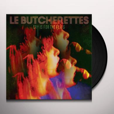 Le Butcherettes CRY IS FOR THE FLIES Vinyl Record