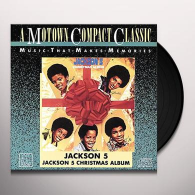 The Jackson 5 CHRISTMAS ALBUM Vinyl Record