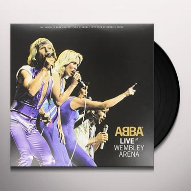 Abba LIVE AT WEMBLEY Vinyl Record