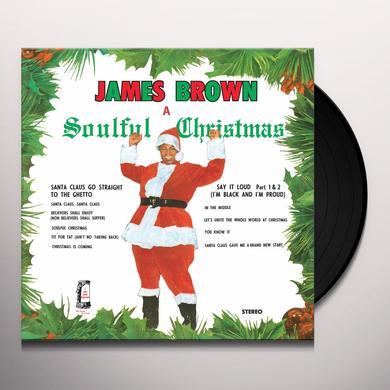 James Brown SOULFUL CHRISTMAS Vinyl Record