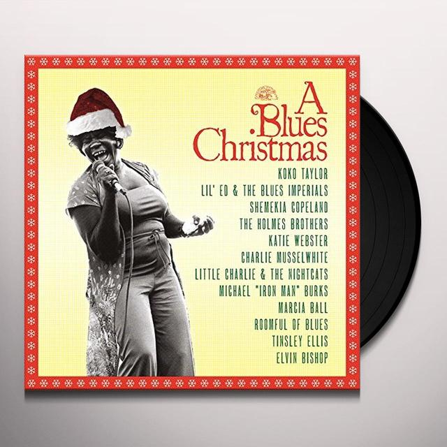 BLUE CHRISTMAS / VARIOUS BLUES CHRISTMAS / VARIOUS Vinyl Record - Digital Download Included