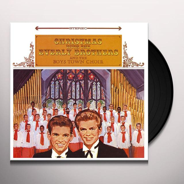 The Everly Brothers CHRISTMAS WITH BOYSTOWN CHOIR Vinyl Record