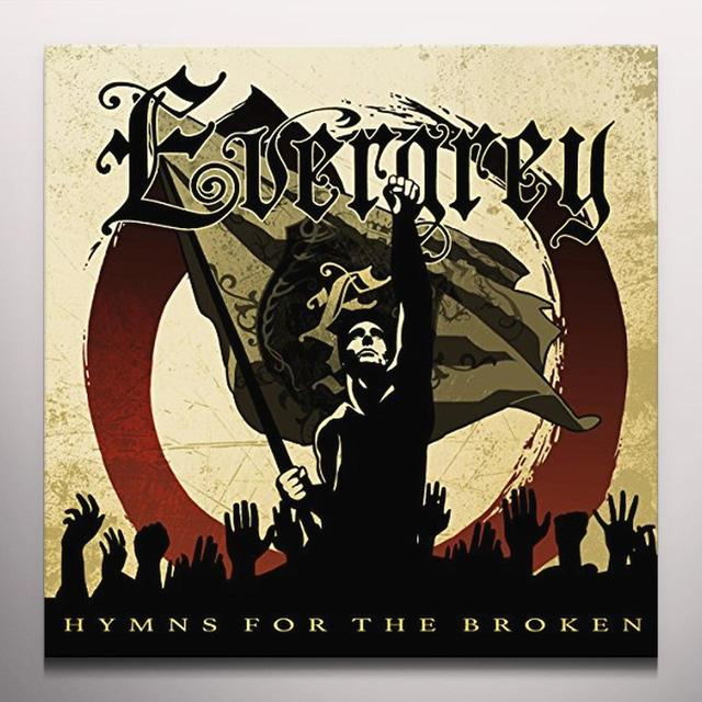 Evergrey HYMNS FOR THE BROKEN Vinyl Record - Gold Vinyl, Colored Vinyl