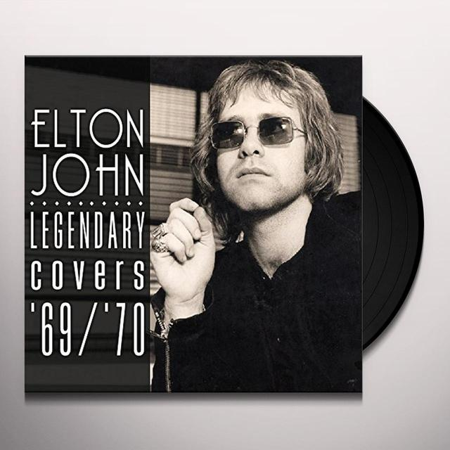 Elton John LEGENDARY COVERS ALBUM 1969-70 Vinyl Record