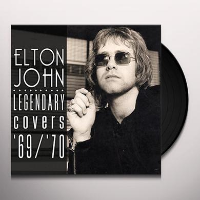 Elton John LEGENDARY COVERS ALBUM 1969-70 Vinyl Record