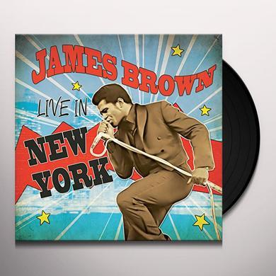 James Brown LIVE IN NEW YORK Vinyl Record