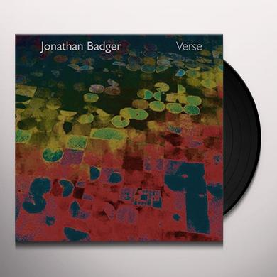 jonathan badger VERSE Vinyl Record