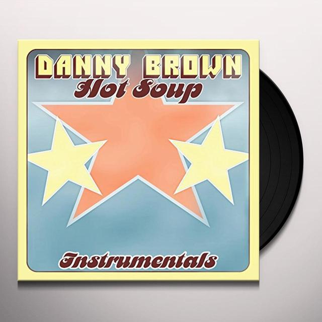 Danny Brown HOT SOUP INSTRUMENTALS Vinyl Record