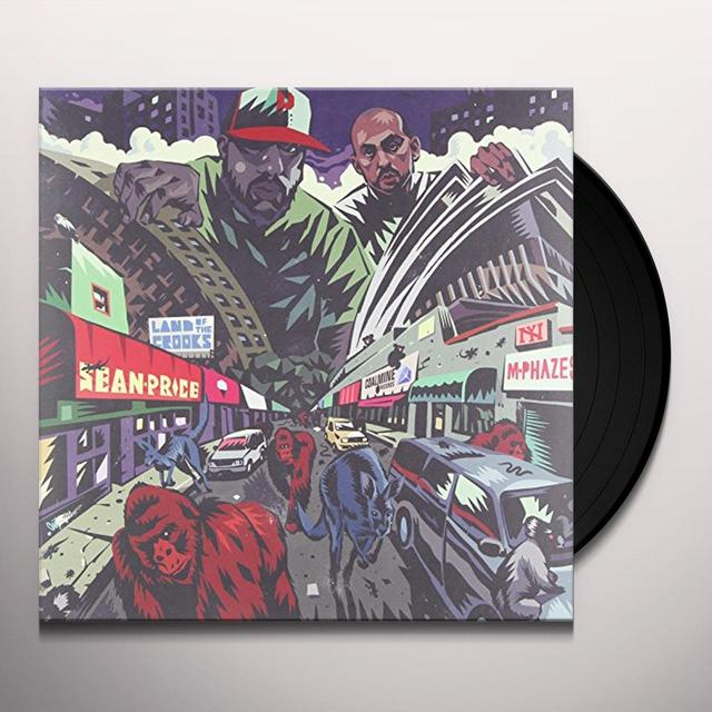Sean Price & M-Phazes LAND OF THE CROOKS (EP) Vinyl Record