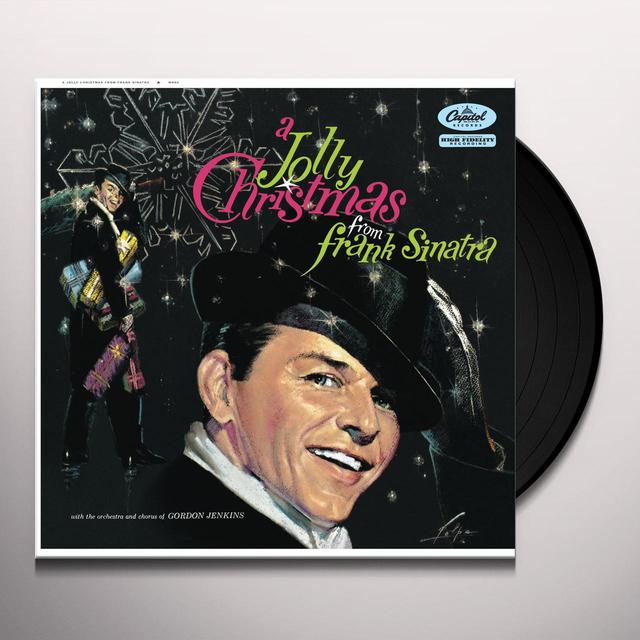 JOLLY CHRISTMAS FROM FRANK SINATRA Vinyl Record