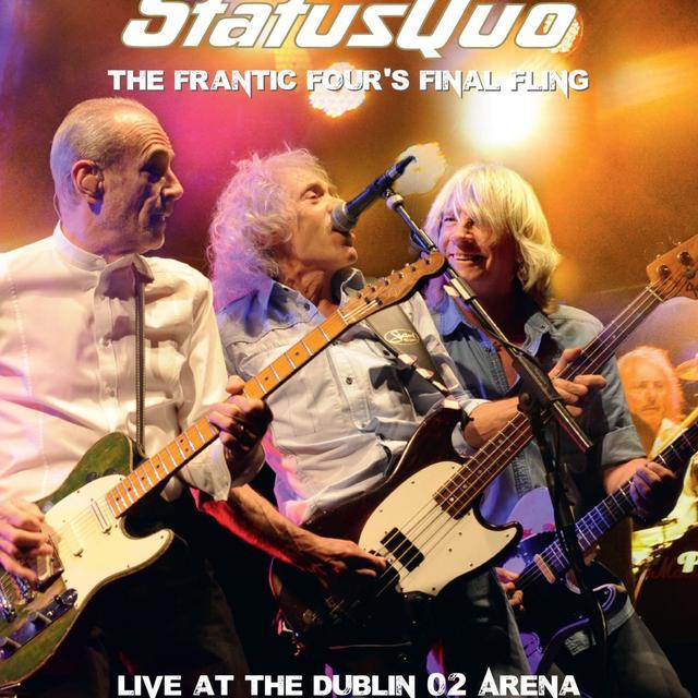 Status Quo FRANTIC FOUR'S FINAL FLING - LIVE AT THE DUBLIN 02 Vinyl Record