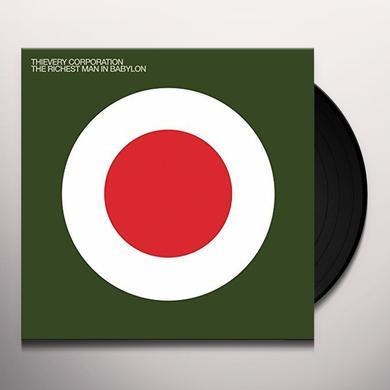 Thievery Corporation RICHEST MAN IN BABYLON Vinyl Record - Gatefold Sleeve