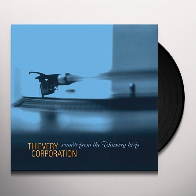 Thievery Corporation SOUNDS FROM THE THIEVERY HI-FI Vinyl Record - Gatefold Sleeve