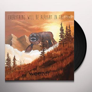 Weezer EVERYTHING WILL BE ALRIGHT IN THE END Vinyl Record