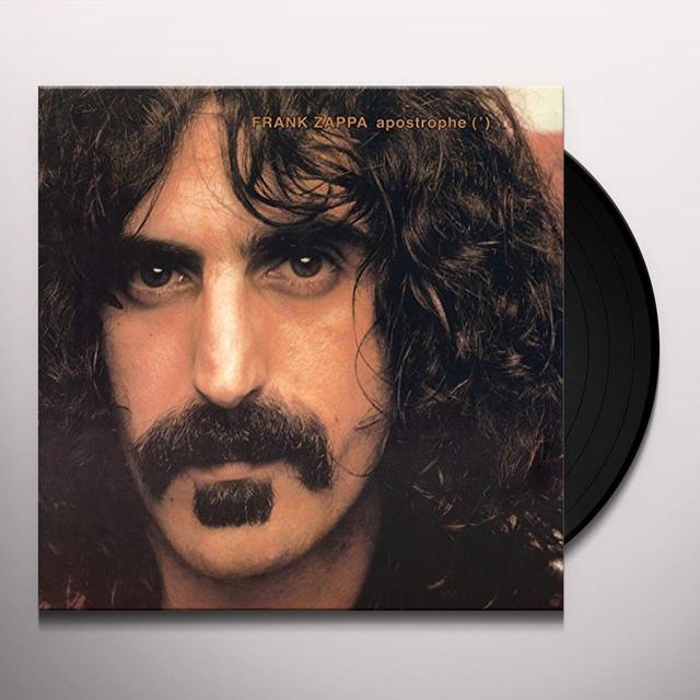 Frank Zappa APOSTROPHE Vinyl Record