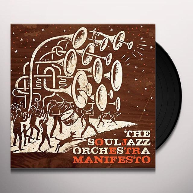 The Souljazz Orchestra MANIFESTO Vinyl Record - 180 Gram Pressing, Remastered