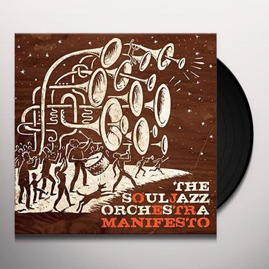 The Souljazz Orchestra MANIFESTO Vinyl Record