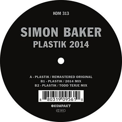 Simon Baker PLASTIK 2014 Vinyl Record