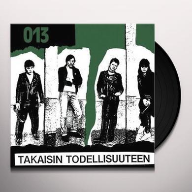 13 TAKAISIN TODELLISUUTEE (GER) Vinyl Record