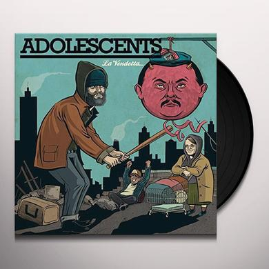 Adolescents LA VENDETTA (GER) Vinyl Record