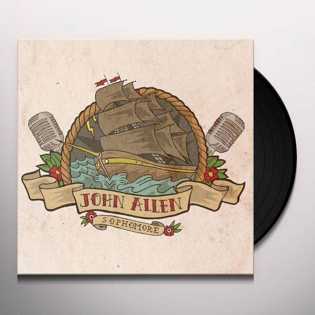 John Allen SOPHOMORE Vinyl Record