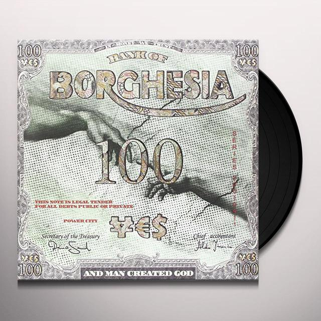 Borghesia AND MAN CREATED GOD (GER) Vinyl Record