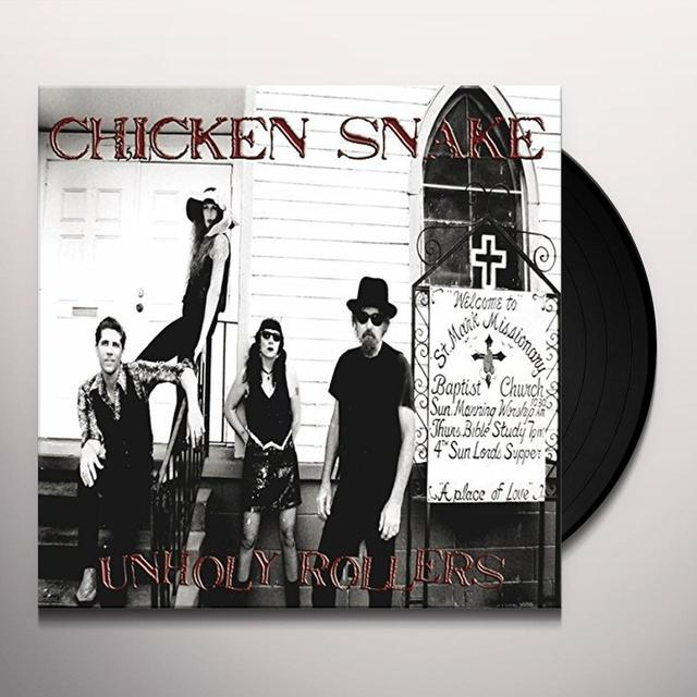 Chicken Snake UNHOLLY ROLLERS (GER) Vinyl Record