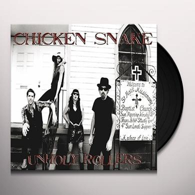 Chicken Snake UNHOLLY ROLLERS Vinyl Record