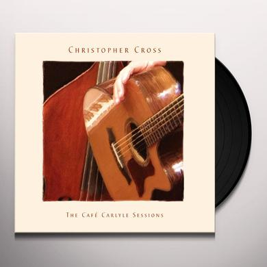 Christopher Cross CAFE CARLYLE SESSIONS Vinyl Record - UK Import